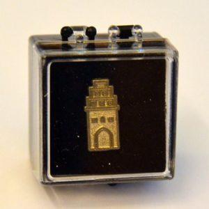 Stadttor-Pin in Geschenkbox