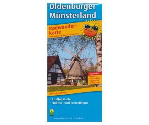 Radwanderkarte Oldenburger Münsterland