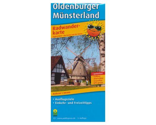 Radwanderkarte Oldenburger Münsterland