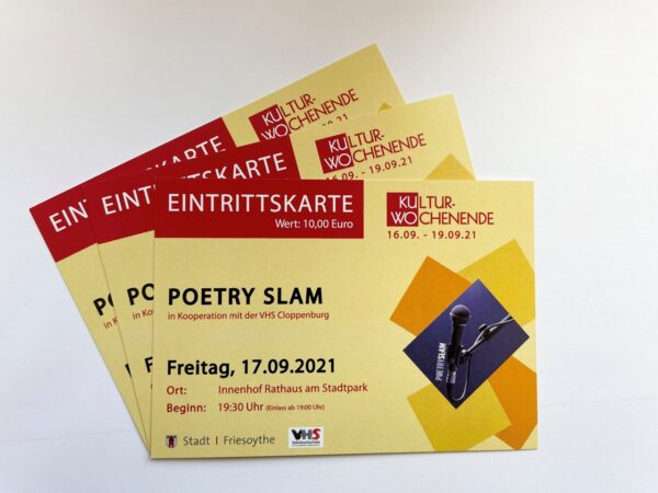 Ticket Poetry Slam