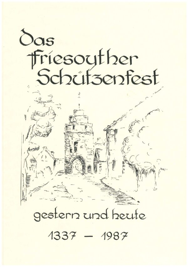 """Buch """"Das Friesoyther Schützenfest"""""""